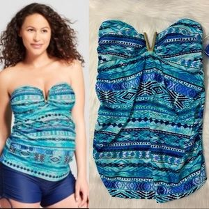 Isabel Maternity Sz S Tankini Swim Suit NWT